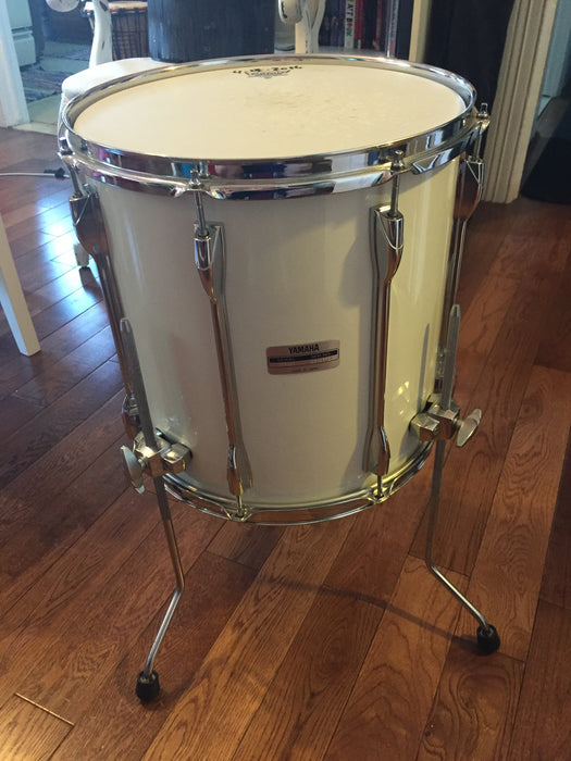 14 X 14 Ft914y Yamaha Recording Custom Floor Tom W Yess White