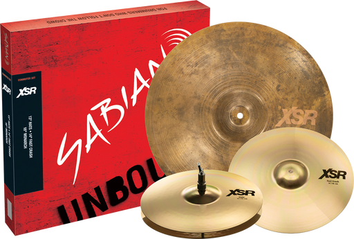 SABIAN XSR Commuter Set