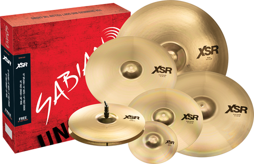 "SABIAN XSR Super Set w/10"" & 18"" -"