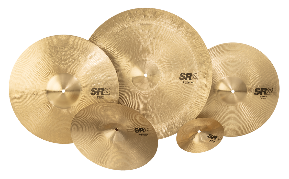 "14"" SABIAN SR2 Light Hi-Hats"