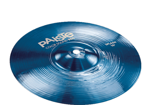 "10"" Paiste 900 Color Sound Blue Splash"