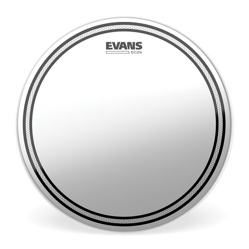 "6"" Evans EC2 Frosted Drum Head"