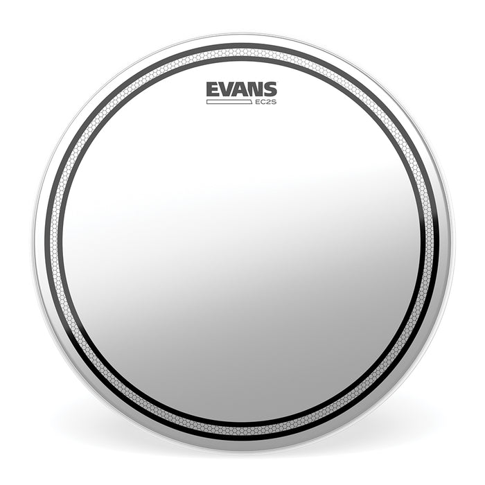 "12"" Evans EC2 Frosted Drum Head"