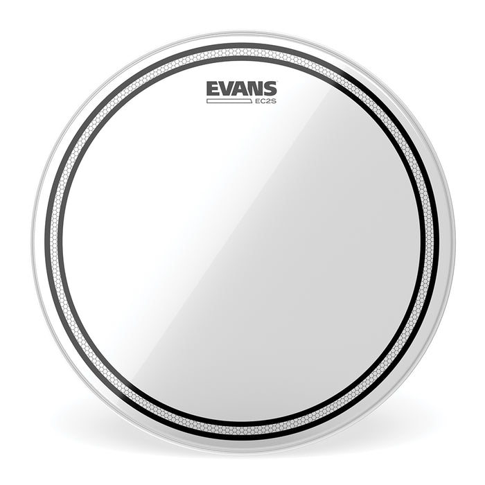 "10"" Evans EC2 Clear Drum Head"