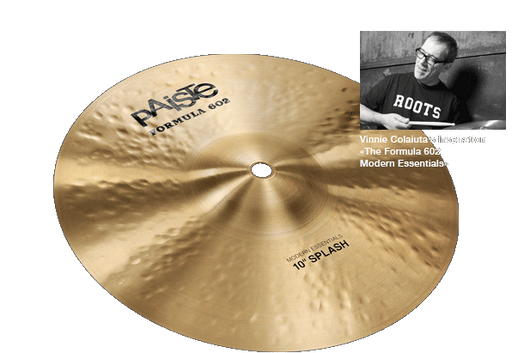 "10"" Paiste Formula 602 Modern Essentials Splash"