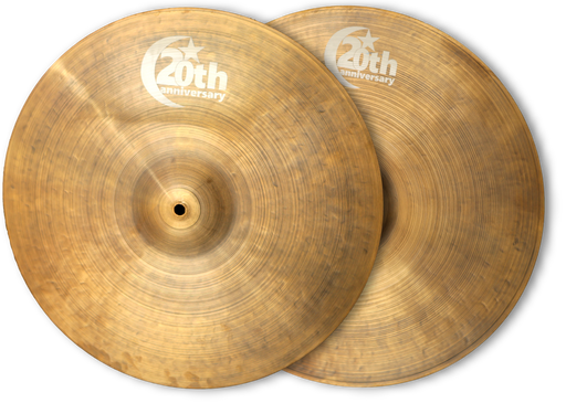 "13"" Bosphorus Cymbals 20th Anniversary Hihat"