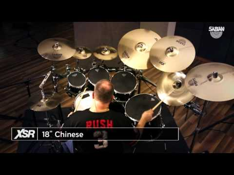 "XSR Video Demo featuring 18"" SABIAN XSR Chinese"