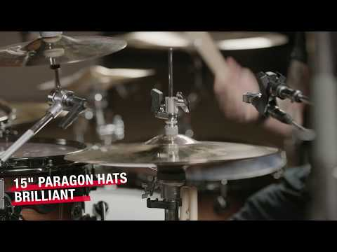 "15"" SABIAN Paragon Hats Brilliant Finish Video Demo"