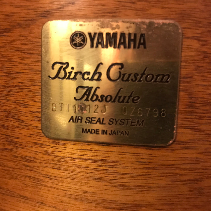 Yamaha Birch Custom Absolute 10J/12J/14/20 Aged Vintage Natural Japan 1st Generation Gold Badge