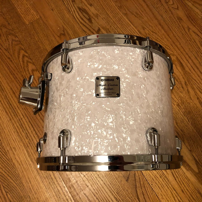 "13""x10"" Yamaha Maple Custom Absolute Nouveau ATT1513U - White Marine Pearl, 3rd Generation (1500 Series)"