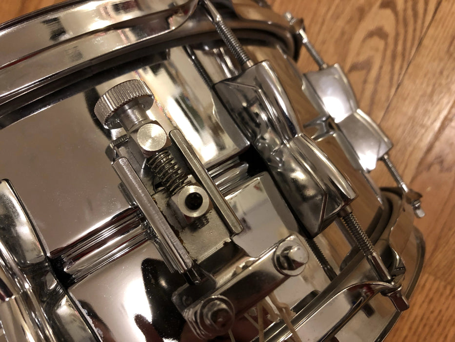 14x6.5 Yamaha SD2096 Seamless Steel Snare Japan