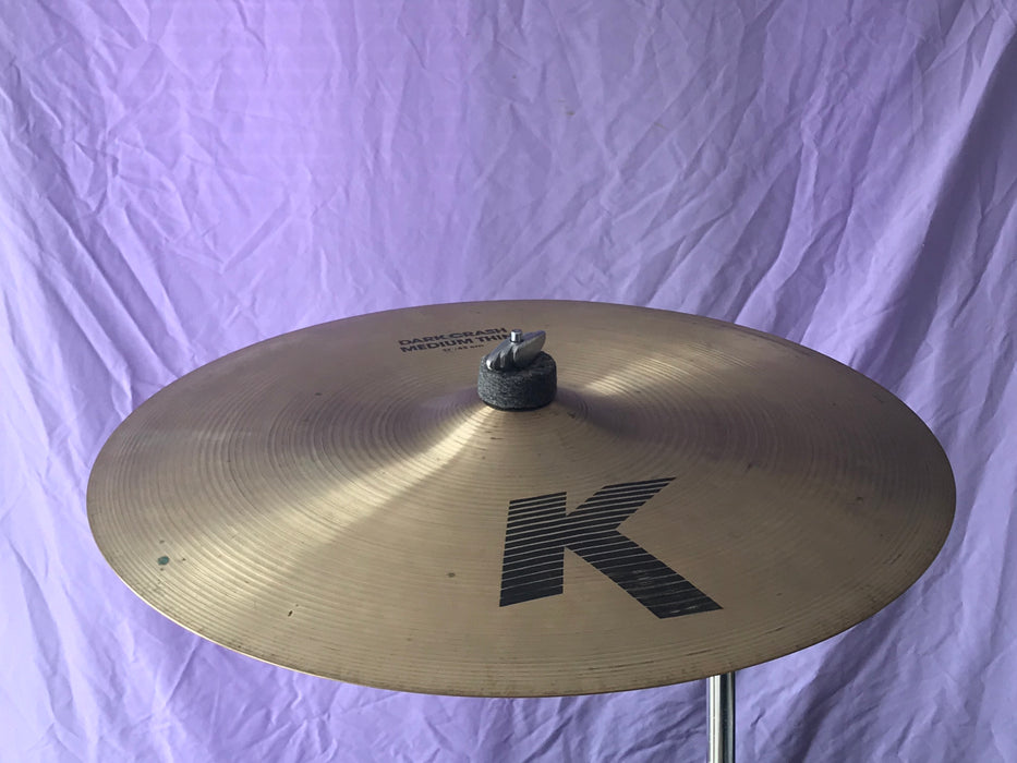 "17"" Zildjian K Dark Crash Medium Thin"