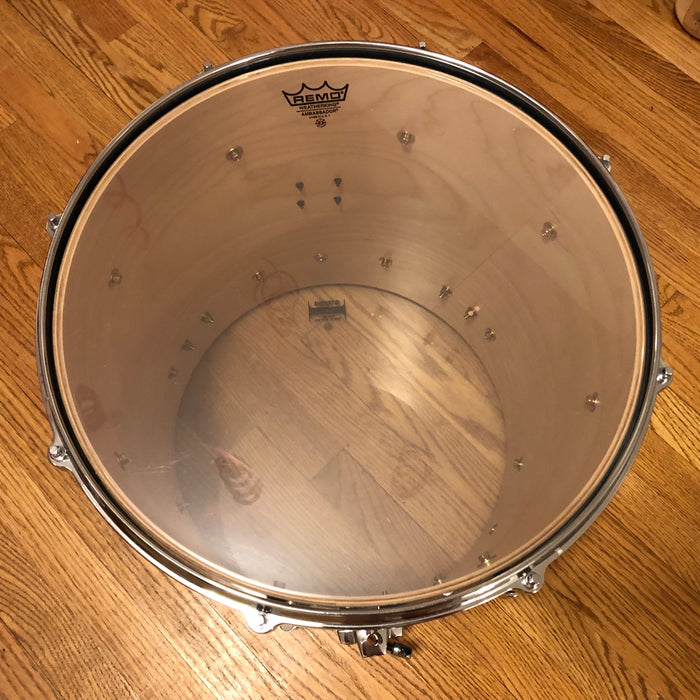"16""x16"" Yamaha BFT1516 Birch Custom Absolute Nouveau Floor Tom - Sea Blue Fade"