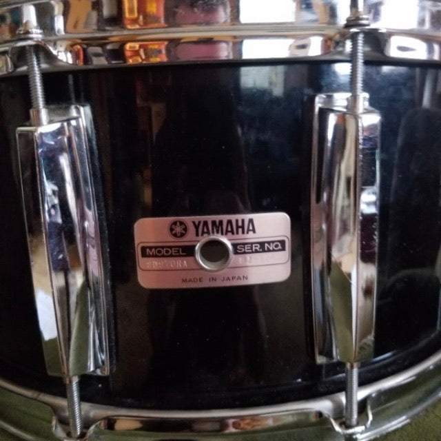 "14"" x 7"" Yamaha SD970RA Recording Custom Snare - Solid Black"