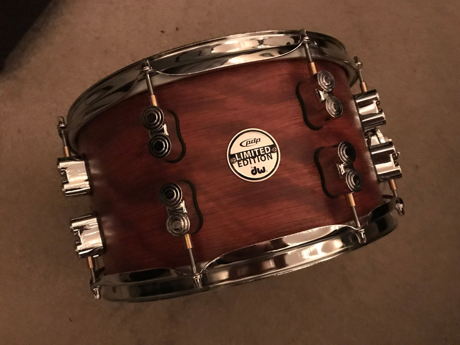 13x7 Limited Edition PDP by DW 18 ply maple/bubinga shell