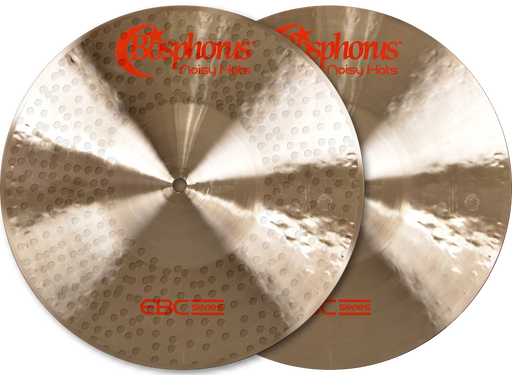 "13"" Bosphorus Cymbals EBC Series Noisy Hats"