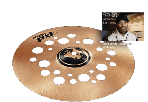 "12"" Paiste PSTX Djs 45 Crash"