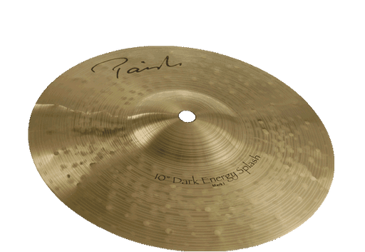 "10"" Paiste Signature Dark Energy Splash Mk I"