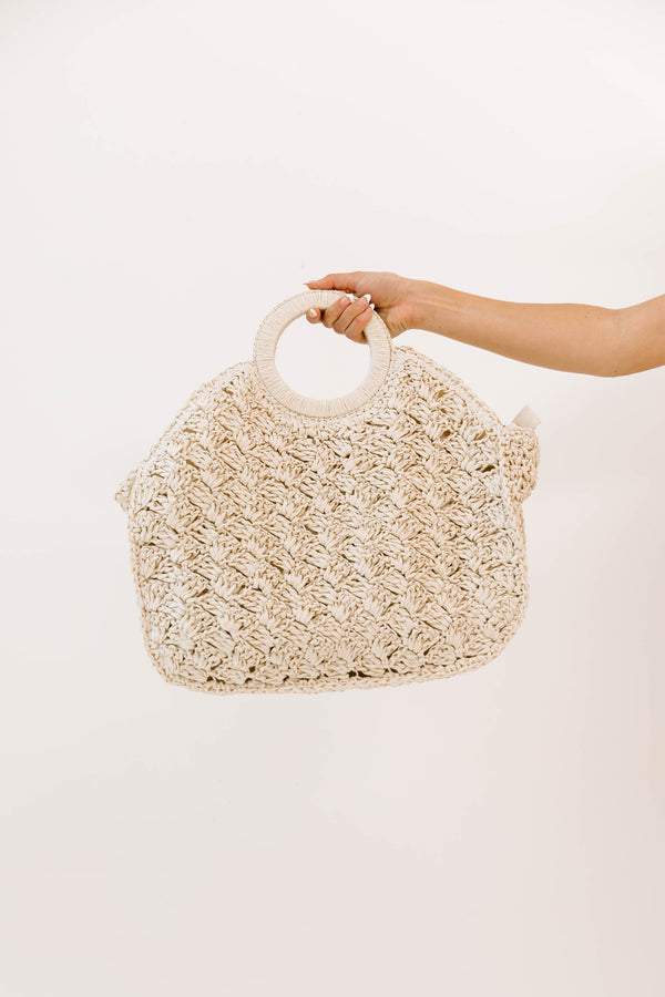 Last Resort Ivory Bag - Luca + Grae