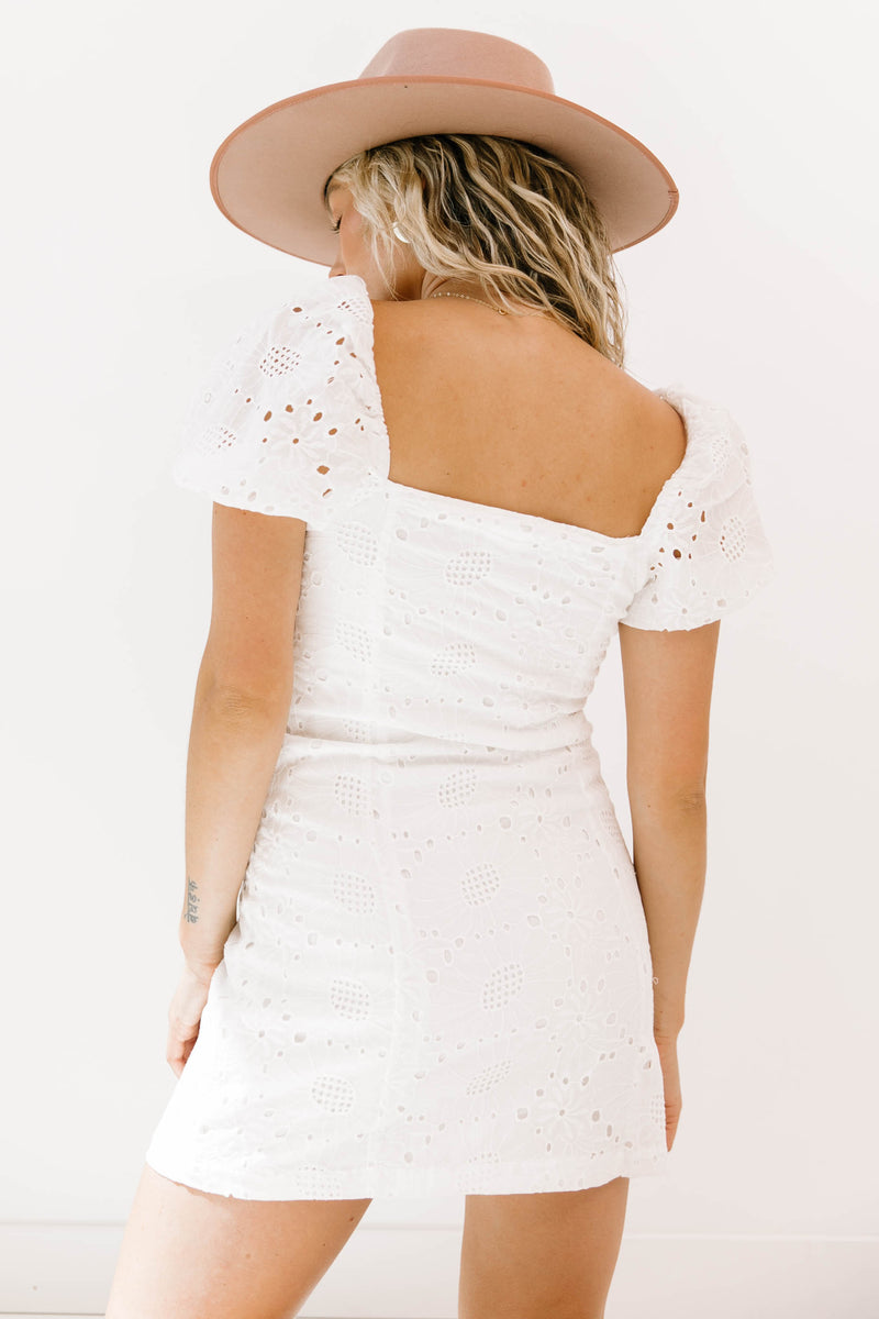Bloom Eyelet Dress - Luca + Grae
