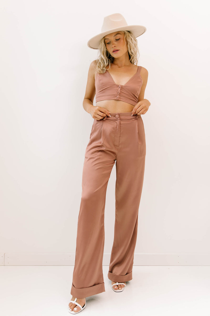 Repeat The Past Top & Pants Set - Luca + Grae