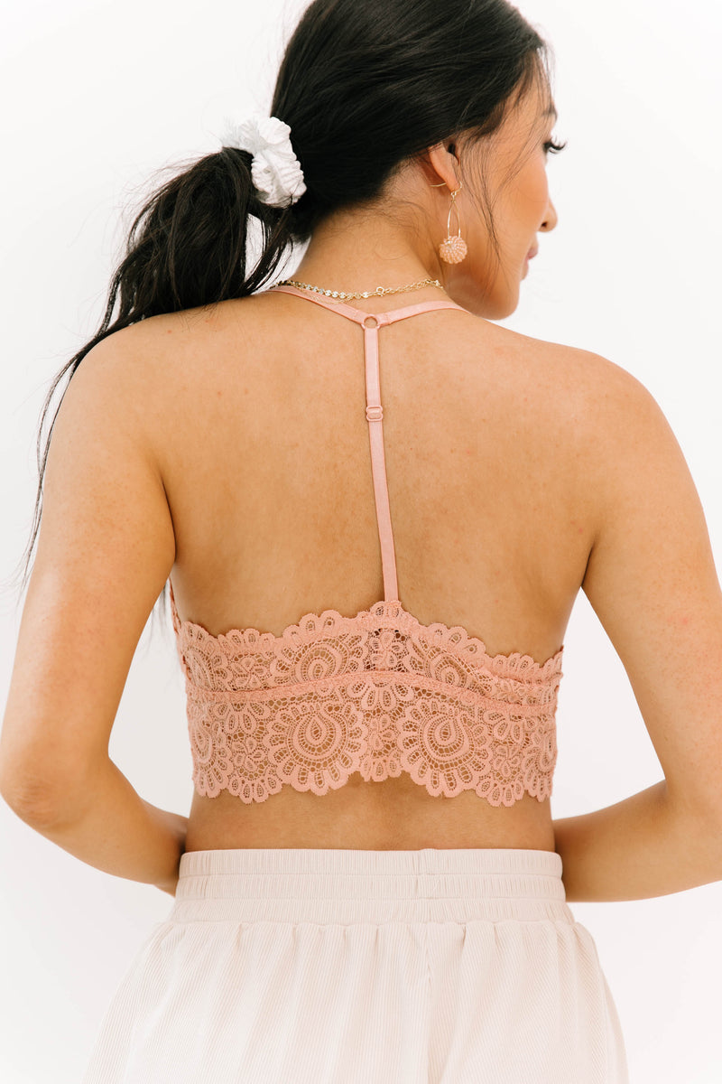 Cuddled Up Blush Bralette - Luca + Grae