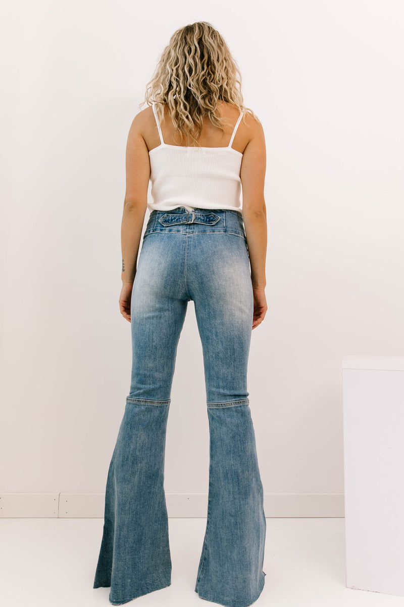 Center Of Gravity Denim Jeans - Luca + Grae