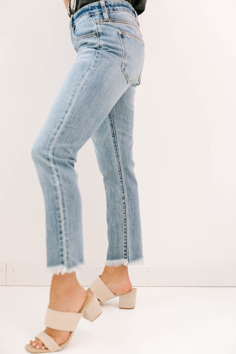 Want It Back Boyfriend Jeans - Luca + Grae
