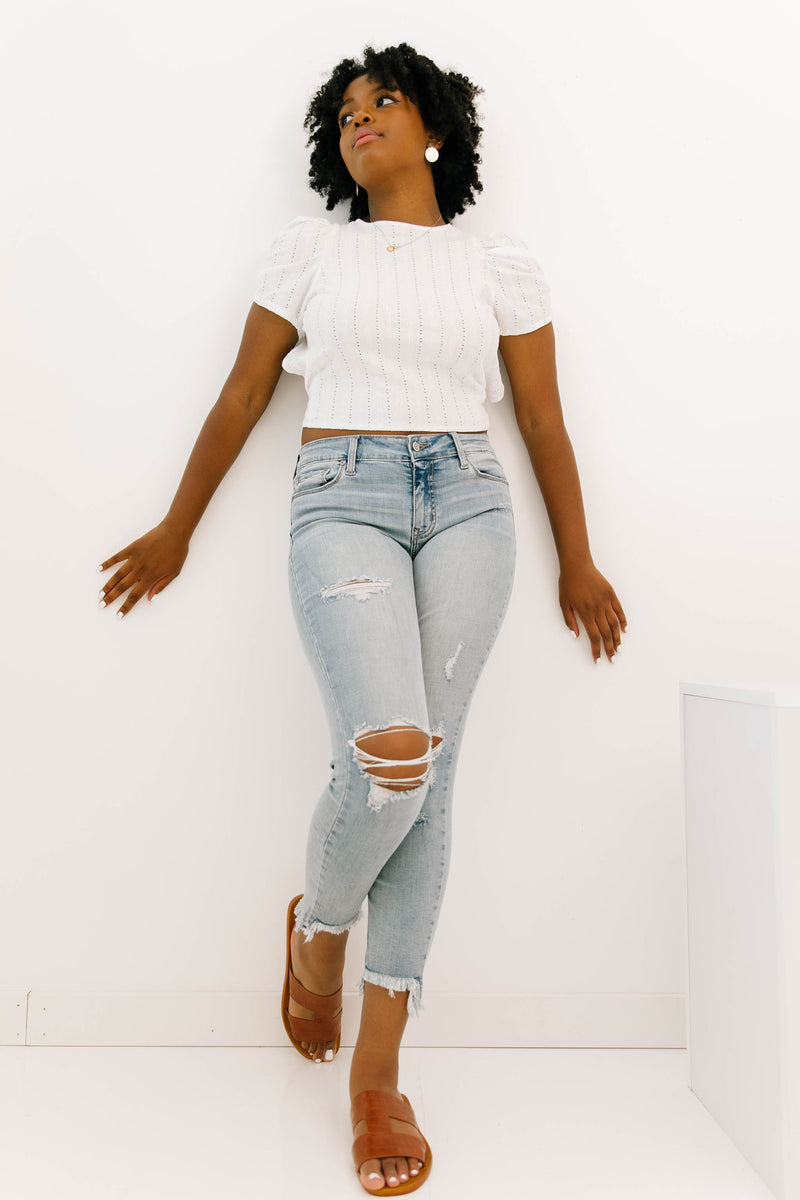 South Of Here Mid Rise Jeans - Luca + Grae