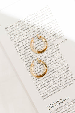 Lumiere Hoop Earrings - Luca + Grae