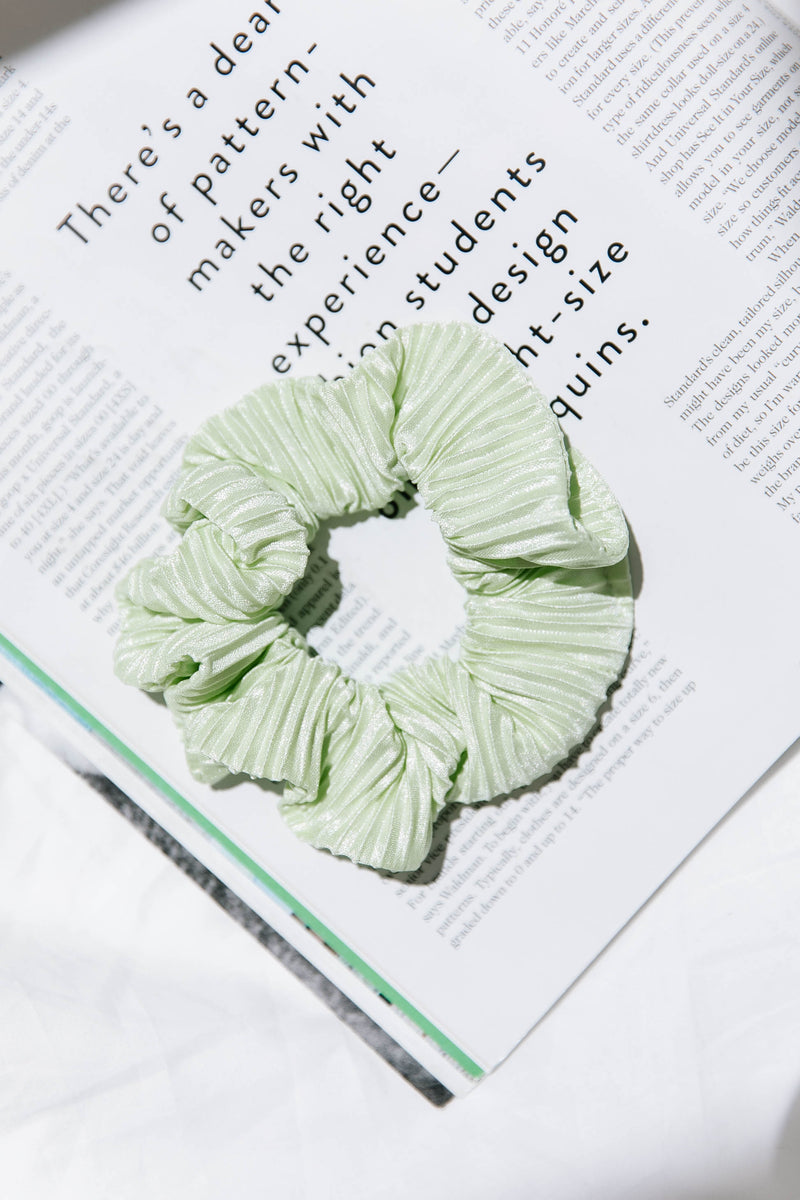 Wild Side Green Scrunchie - Luca + Grae