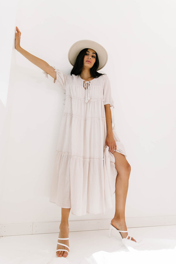 Sicilian Sunrise Dress - Luca + Grae