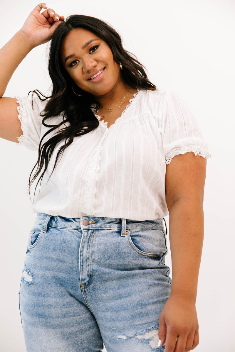 Curvy Daily Luxe Top - Luca + Grae