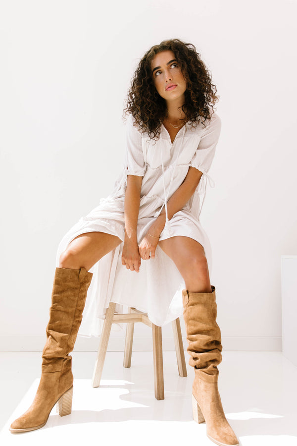 +Morningside Caramel Boots - Luca + Grae