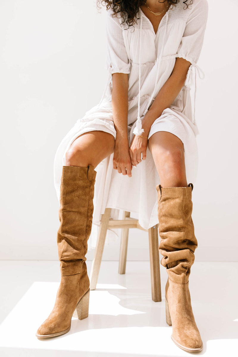 Morningside Caramel Boots - Luca + Grae