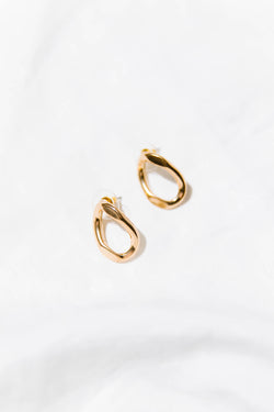 Daybreak Oval Earrings - Luca + Grae
