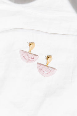Tulum Pink Earrings - Luca + Grae