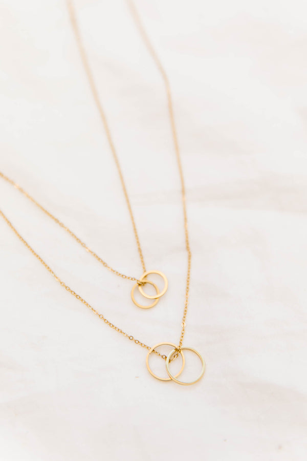 *Love Club Layered Necklace - Luca + Grae
