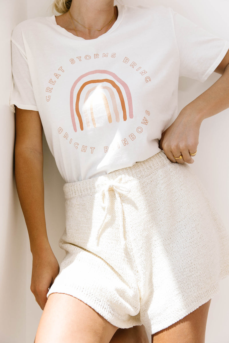 Aspyn The Label Rainbow Tee - Luca + Grae