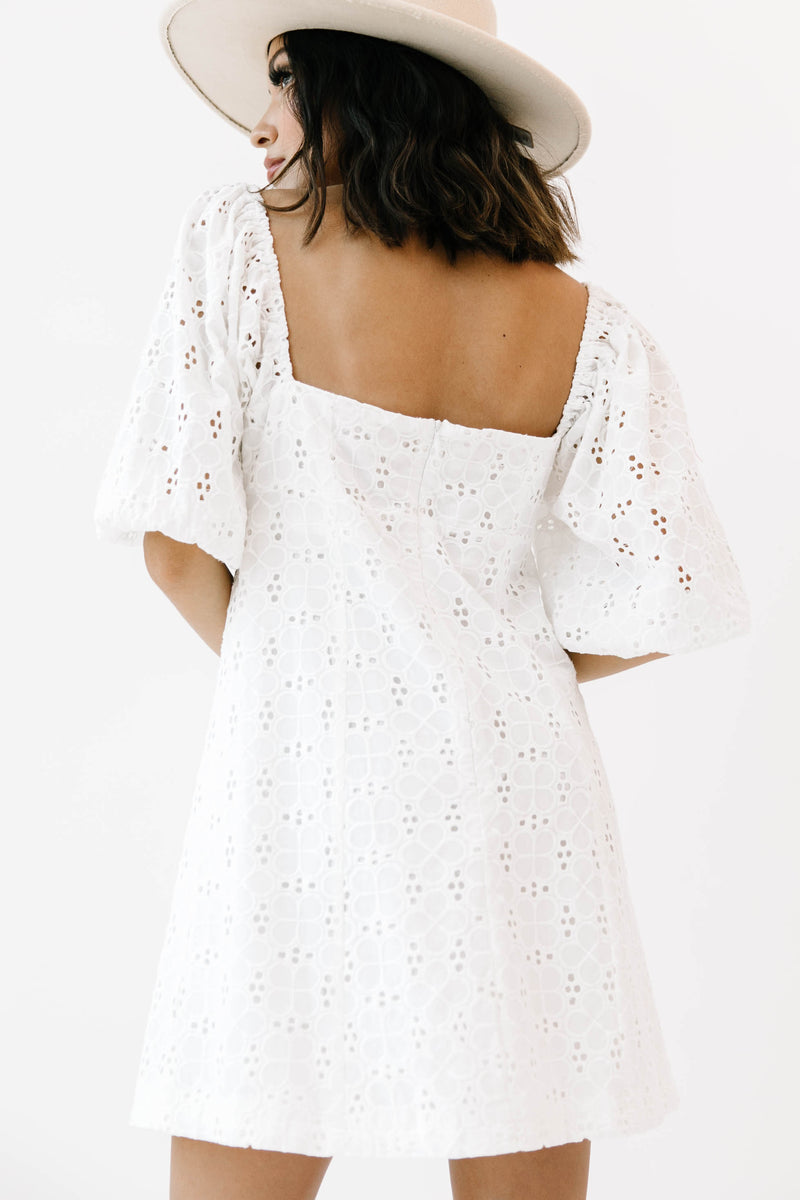 Sunshine Type White Dress - Luca + Grae