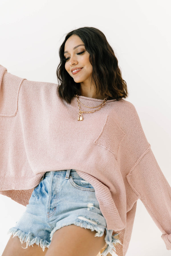 +Waiting Game Cropped Sweater - Luca + Grae