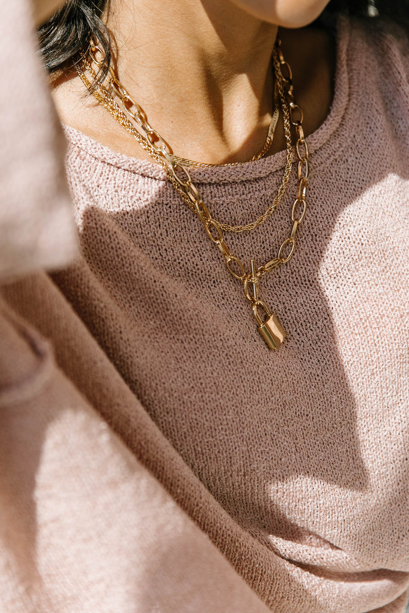 Locked Love Necklace - Luca + Grae