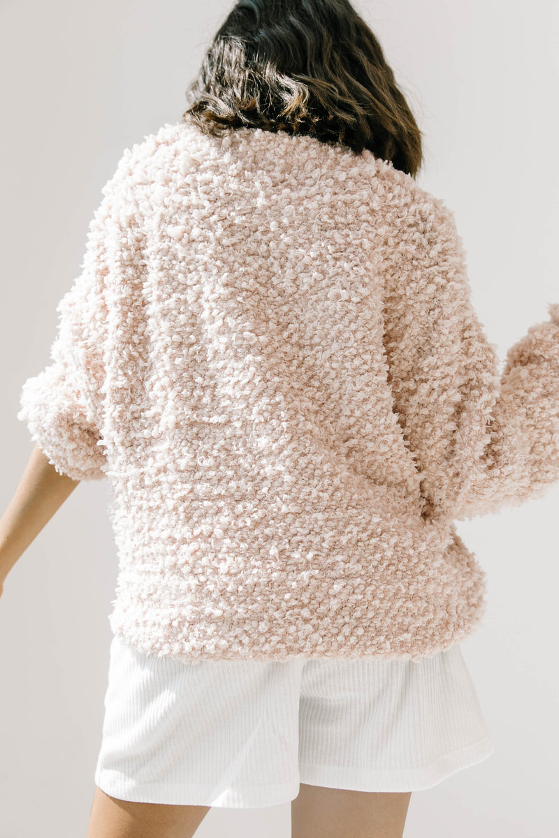 Open Arms Blush Sweater - Luca + Grae