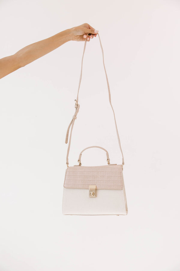 Blushed Lock Bag - Luca + Grae