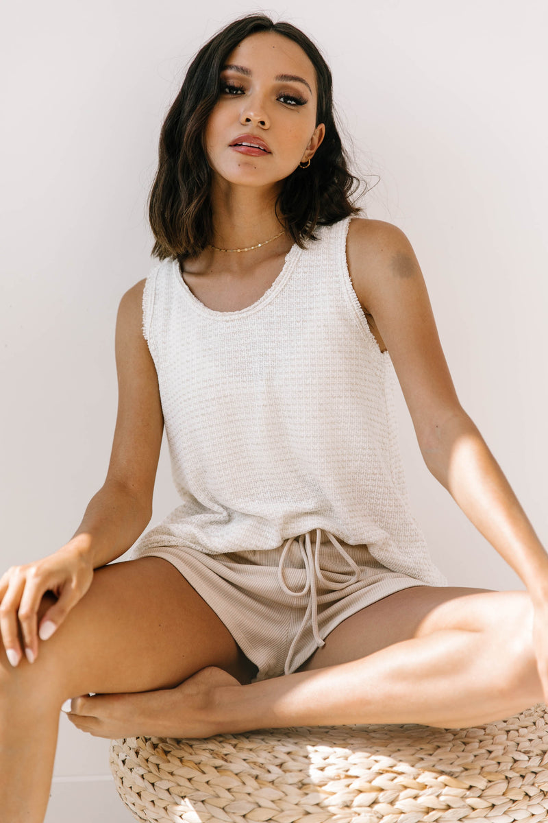 Sanibel Knit Tank - Luca + Grae