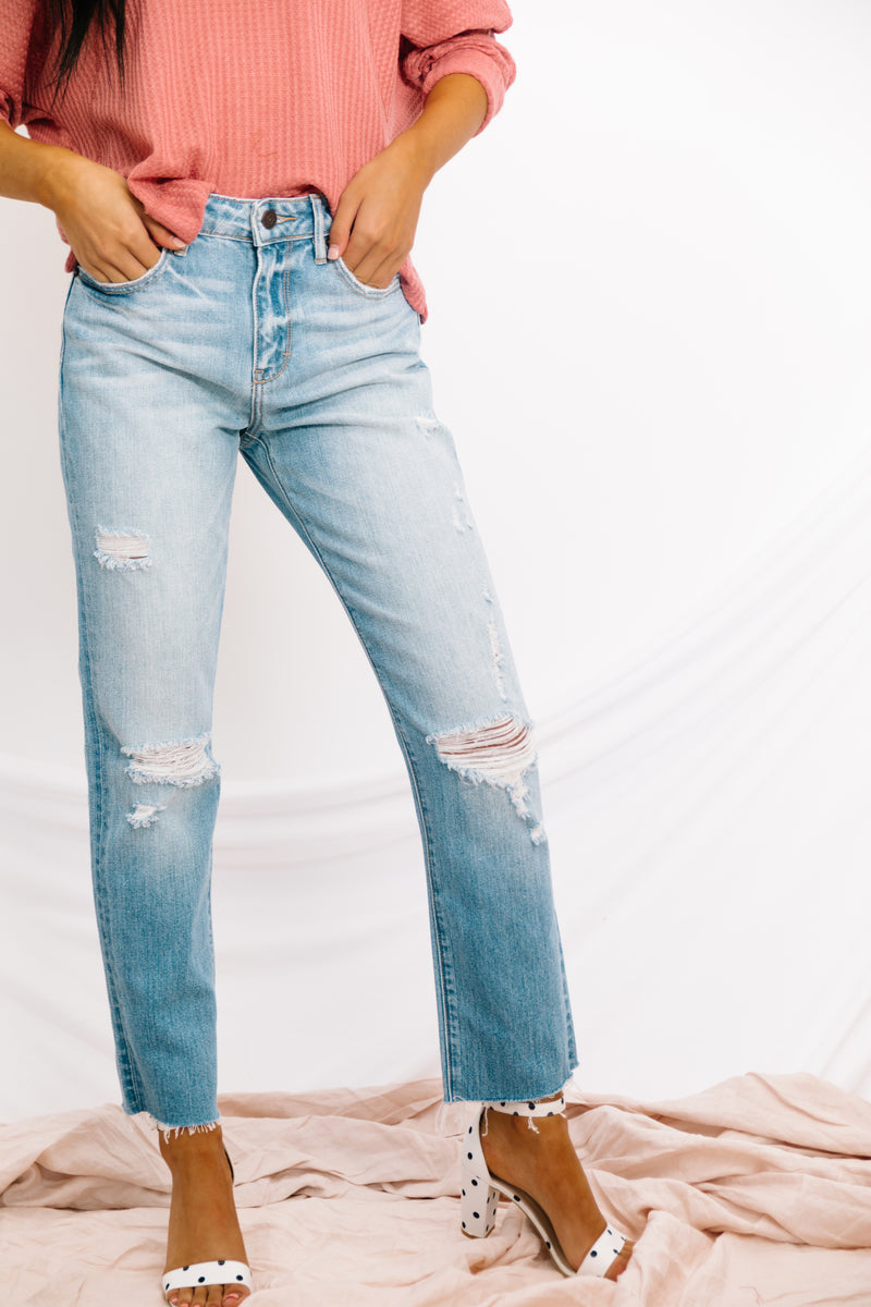 Rockstar Cropped Jeans - Luca + Grae