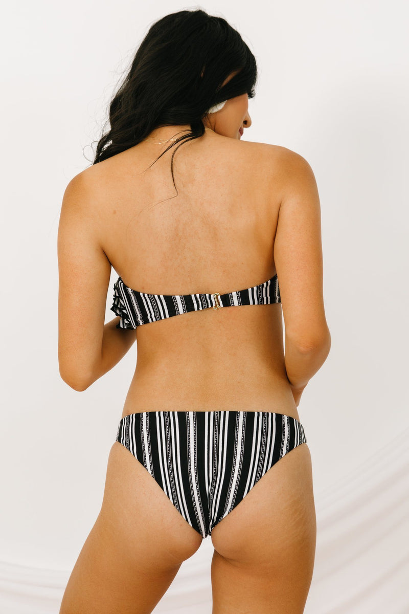 Iris Bandeau Swim Top