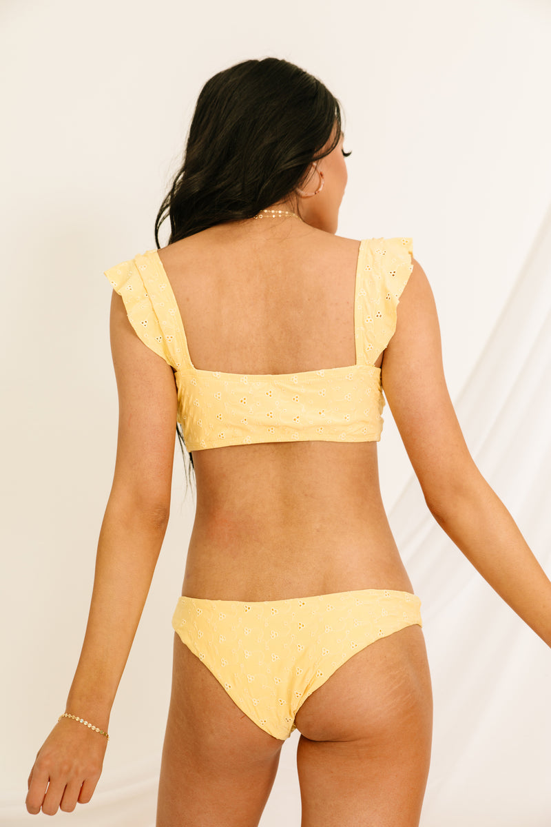 Sunshine Eyelet Cheeky Bottoms - Luca + Grae