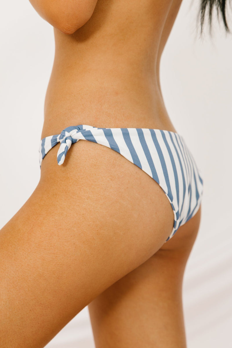 Lake Como Striped Swim Bottom