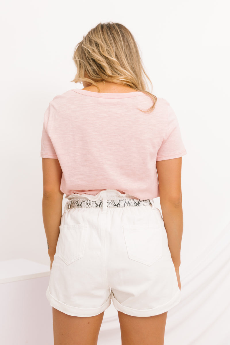 Fearless Denim Shorts - Luca + Grae